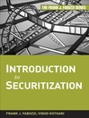 Introduction to Securitization (eBook): Frank J. Fabozzi Series, Book 182